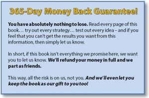 365-Day Money Back Guarantee